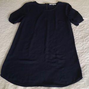 DANIEL RAINN Navy Blue Light Weight Dress Size S